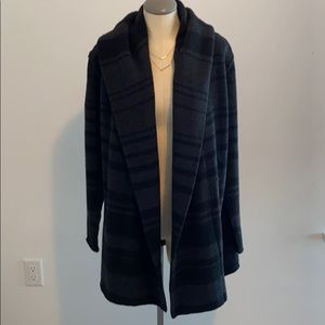 Vince wool long sweater coat SIZE L